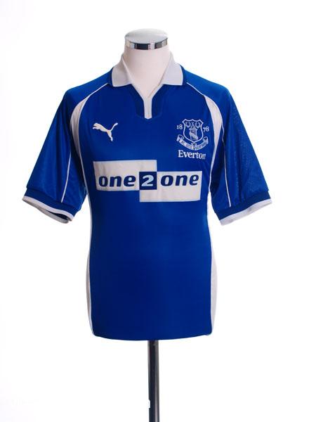 2000-02 Everton Home Shirt XL