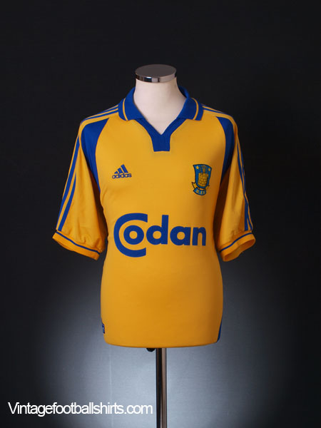 2000-02 FC Brondby Home Shirt S