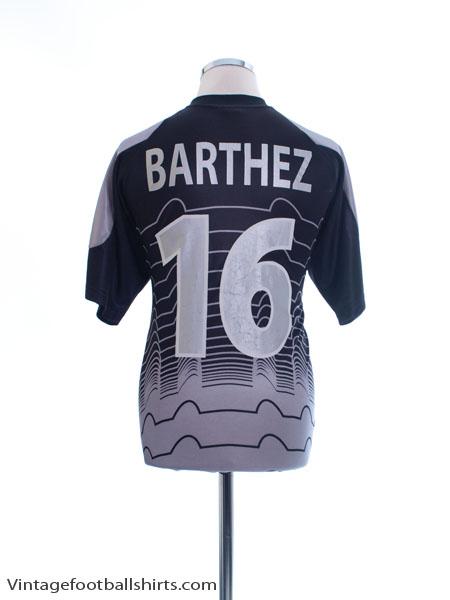 2000-02 France Goalkeeper Shirt Barthez #16 M - 637264