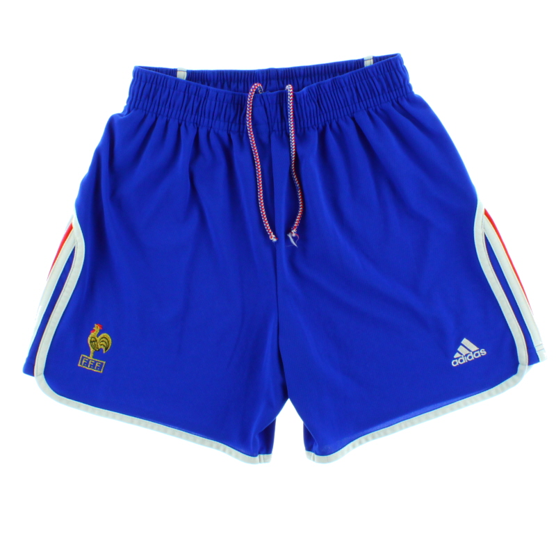 2000-02 France Home Shorts M - 647185