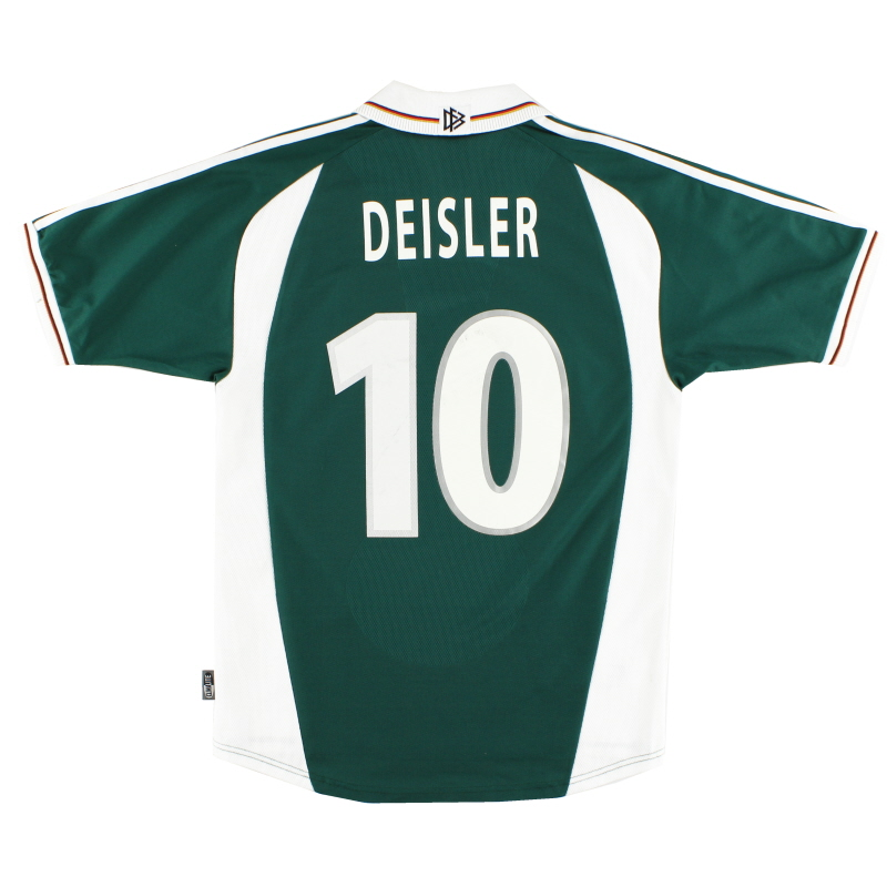 2000-02 Germany Away Shirt Deisler #10 S