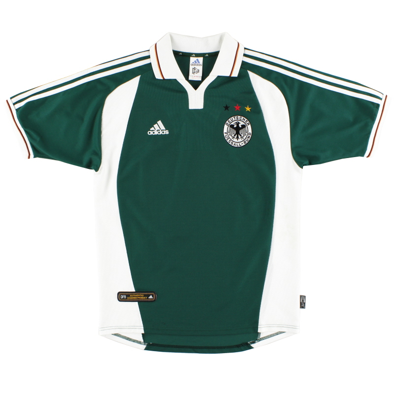 2000-02 Germany adidas Away Shirt S - 646711