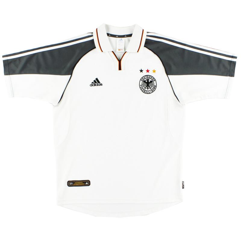 2000-02 Germany Home Shirt M