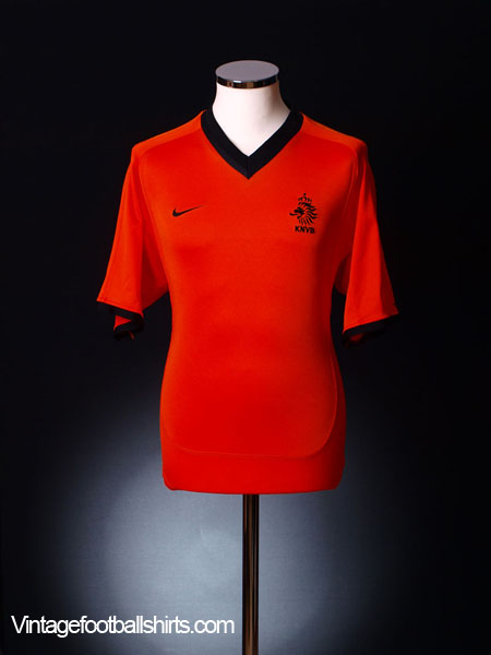 2000-02 Holland Home Shirt L