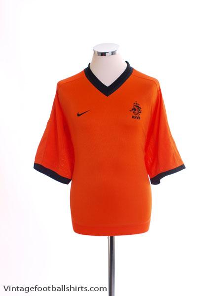 2000-02 Holland Home Shirt M
