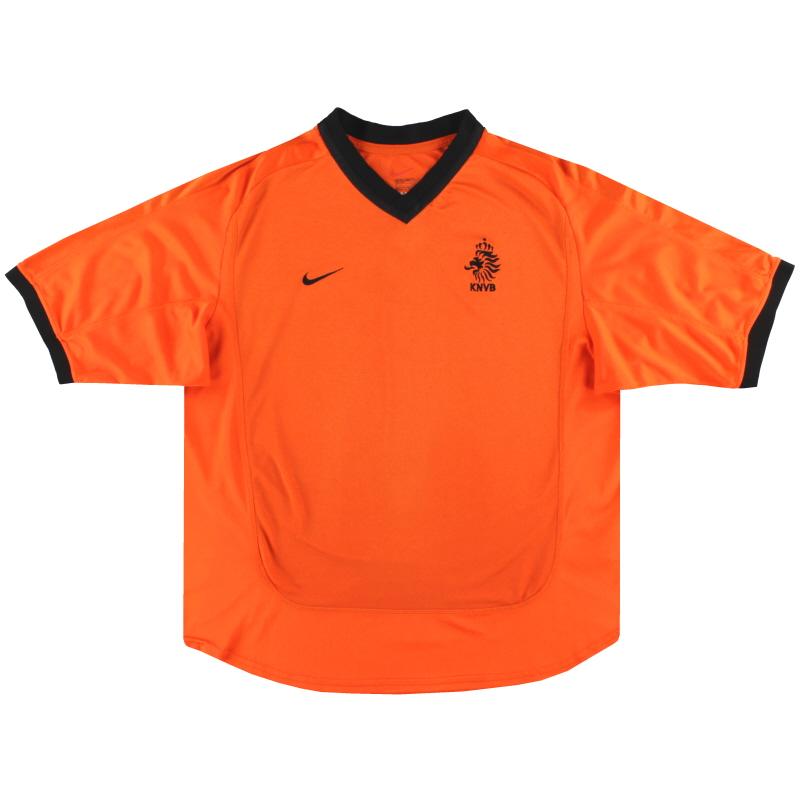 2000-02 Holland Nike Home Shirt XXL