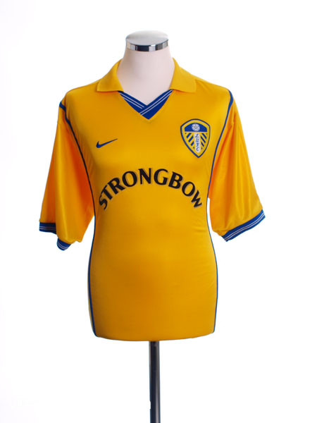 2000-02 Leeds Away Shirt XL.Boys