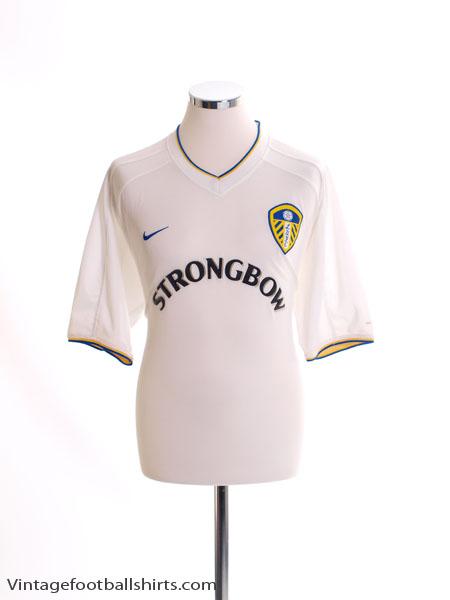 2000-02 Leeds Home Shirt M