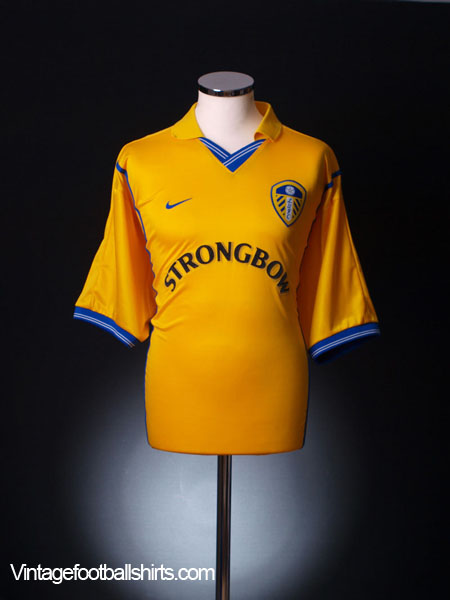 2000-02 Leeds Home Shirt XL