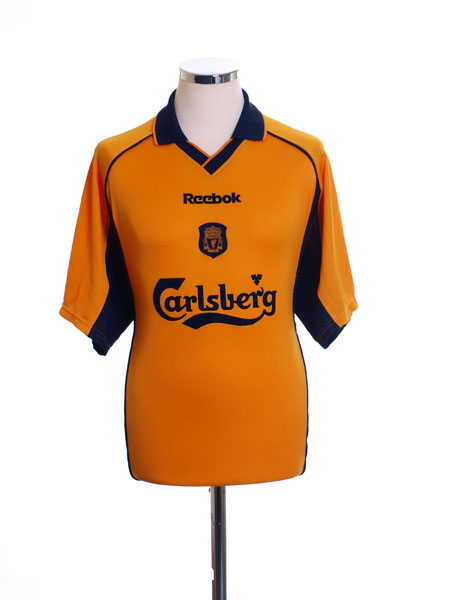 2000-02 Liverpool Away Shirt S