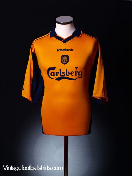 2000-02 Liverpool Away Shirt L