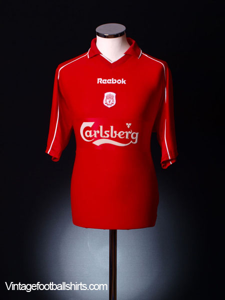 2000-02 Liverpool Home Shirt L