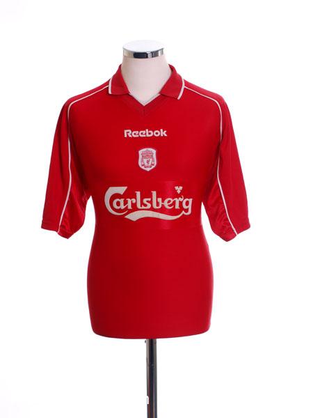2000-02 Liverpool Home Shirt M
