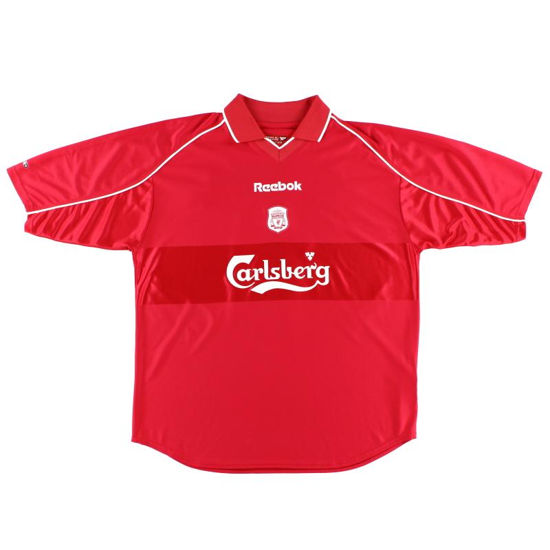 2000-02 Liverpool Reebok Home Shirt XL - 201334
