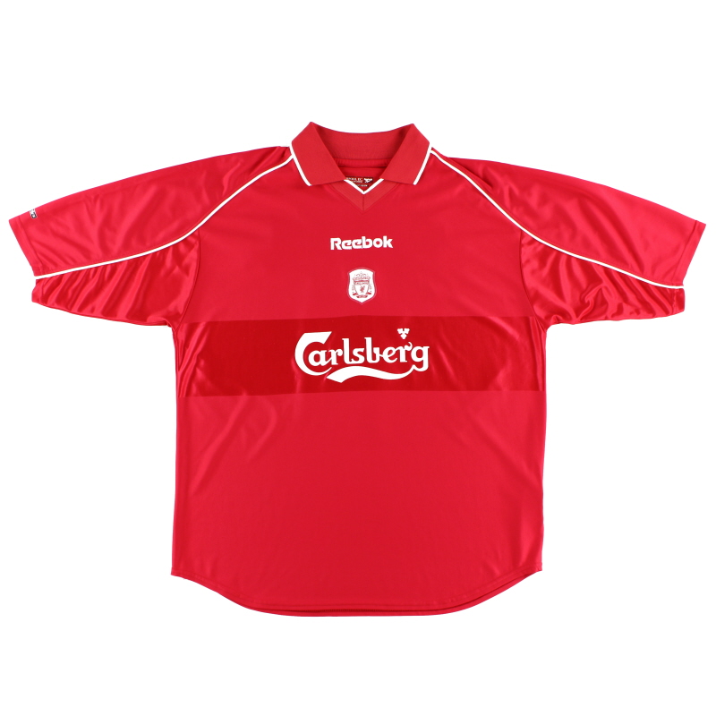 2000-02 Liverpool Reebok Home Shirt L - 201334