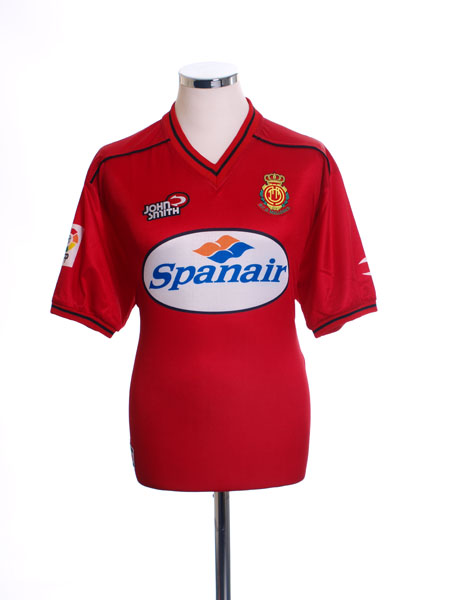 2000-02 Mallorca Home Shirt M
