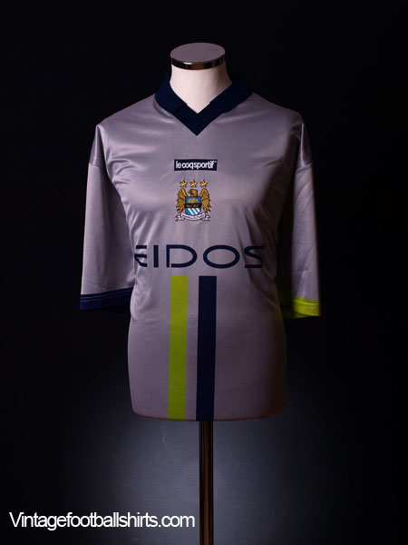2000-02 Manchester City Away Shirt XL