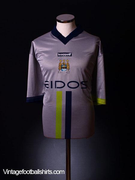 2000-02 Manchester City Away Shirt L