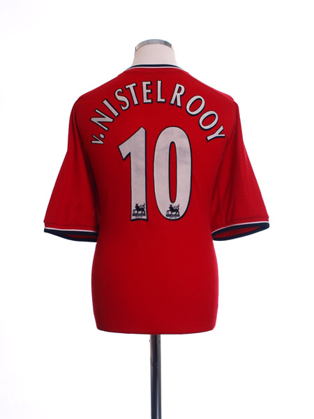 2000-02 Manchester United Home Shirt v. Nistelrooy #10 XL