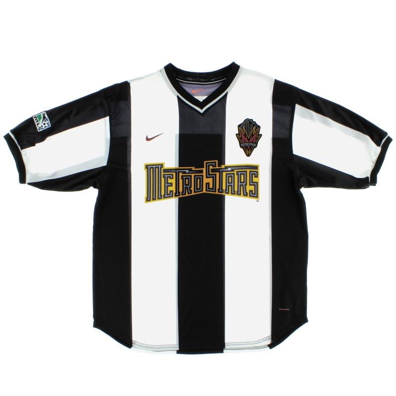 2000-02 MetroStars Away Shirt L