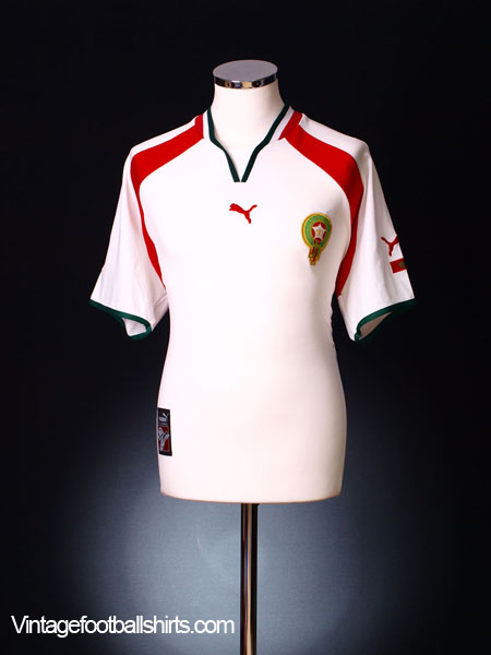 2000-02 Morocco Away Shirt L