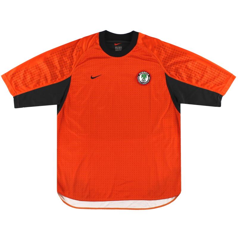 2000-02 Nigeria Nike Goalkeeper Shirt XL