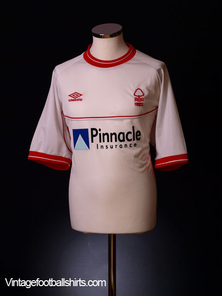 2000-02 Nottingham Forest Away Shirt XL