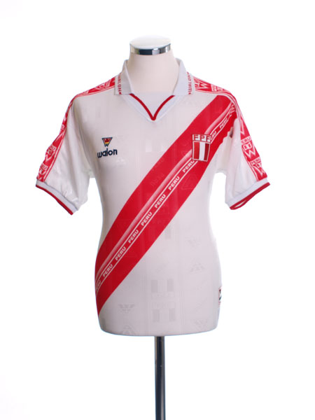 2000-02 Peru Home Shirt #10 XL