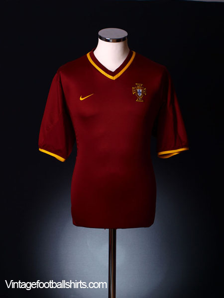 2000-02 Portugal Home Shirt XL