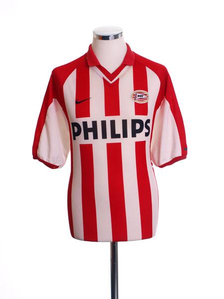2000-02 PSV Home Shirt L