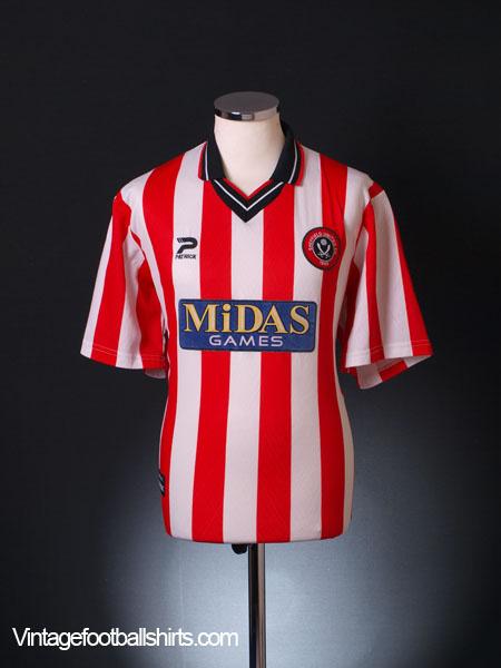 2000-02 Sheffield United Home Shirt M