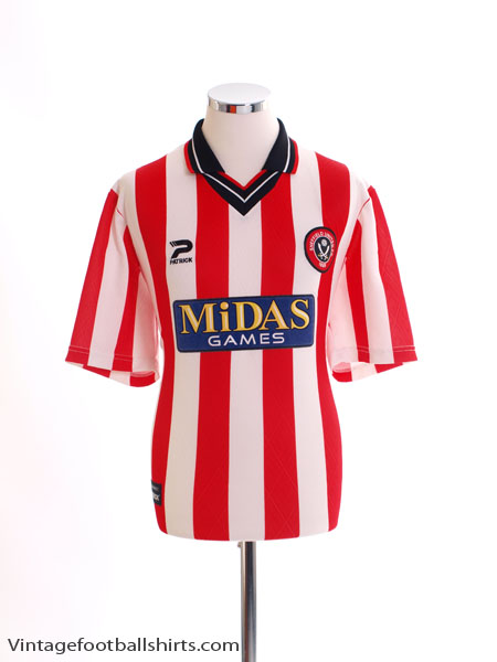 2000-02 Sheffield United Home Shirt *Mint* L
