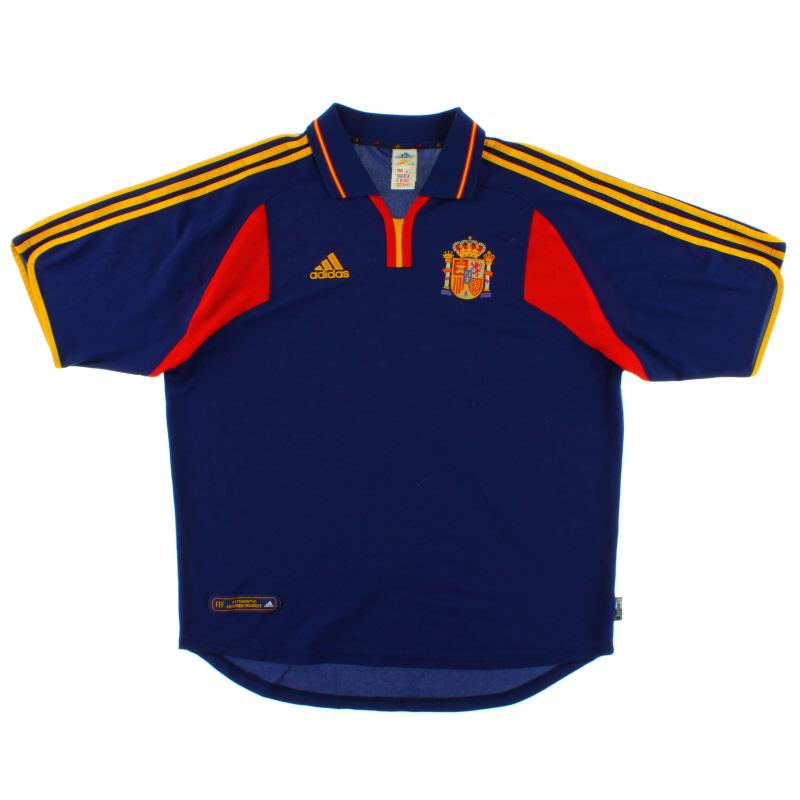2000-02 Spain Away Shirt XL - 647196