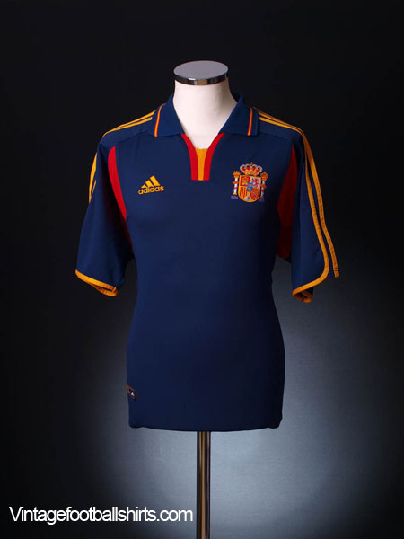 2000-02 Spain Third Shirt XL