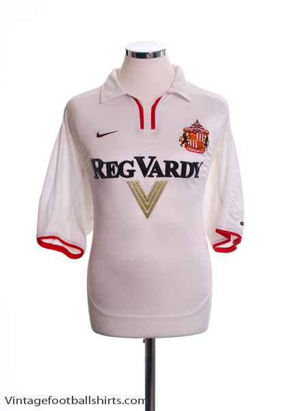2000-02 Sunderland Away Shirt L