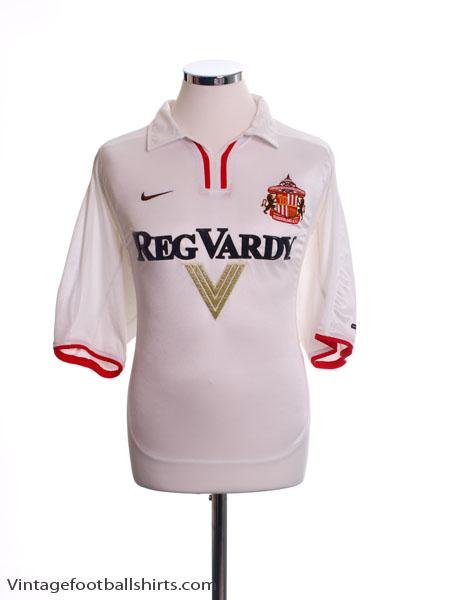 2000-02 Sunderland Away Shirt XL