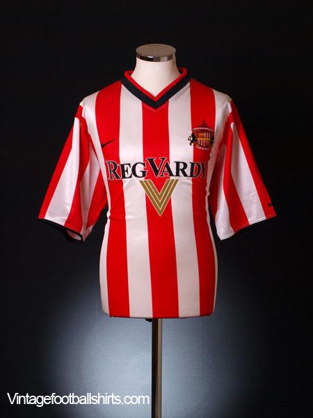 2000-02 Sunderland Home Shirt L