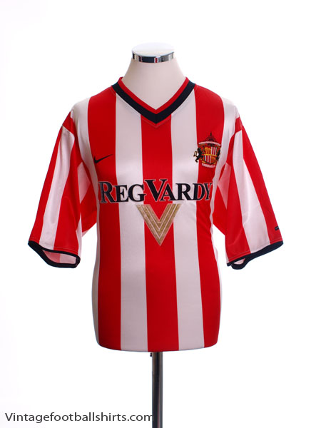 2000-02 Sunderland Home Shirt XL.Boys