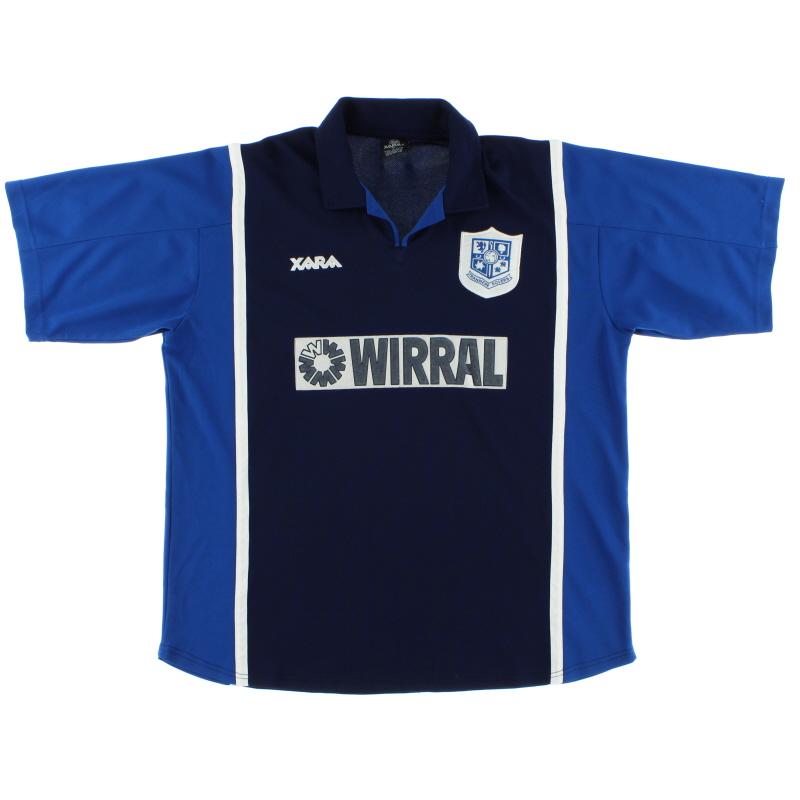 2000-02 Tranmere Rovers Away Shirt XL