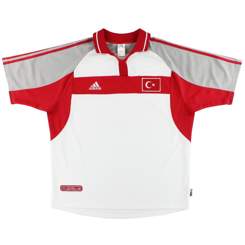 2000-02 Turkey adidas Away Shirt XL - 643829
