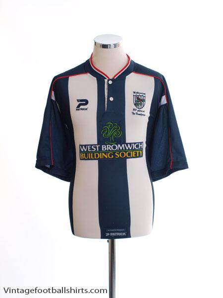 2000-02 West Brom Home Shirt XL