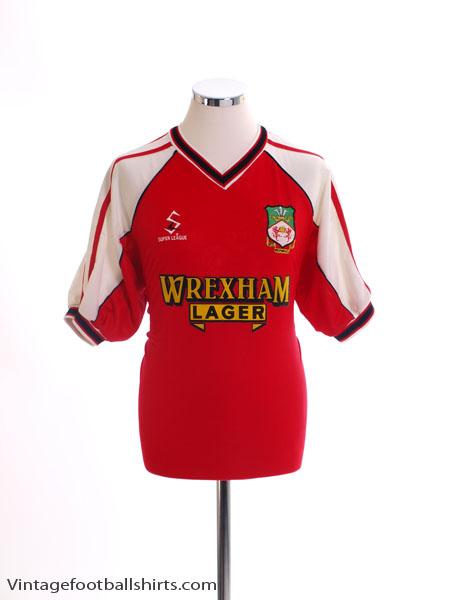 2000-02 Wrexham Home Shirt M