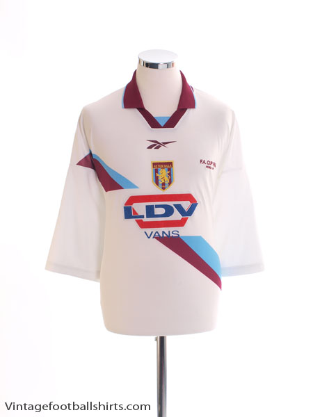 2000 Aston Villa 'FA Cup Final' Away Shirt XXL