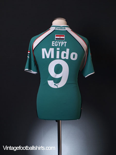 2000 Egypt Away Shirt Mido #9 S