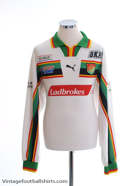 2000 GAIS Match Issue Away Shirt #9 L/S XL