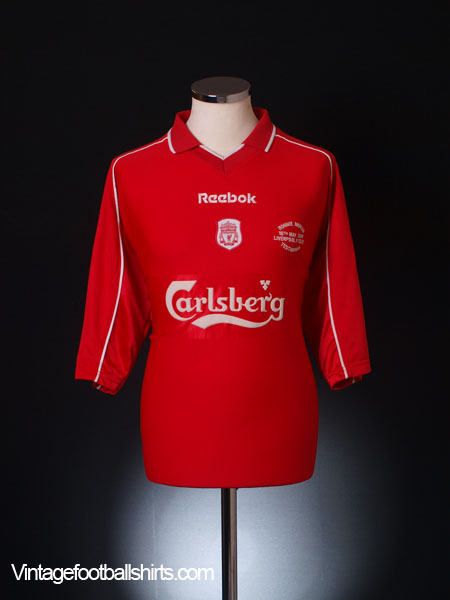 2000 Liverpool 'Ronnie Moran Testimonial' Player Issue Home Shirt #9 (Fowler)