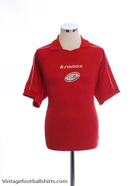 2000 Malta Centenary Home Shirt L