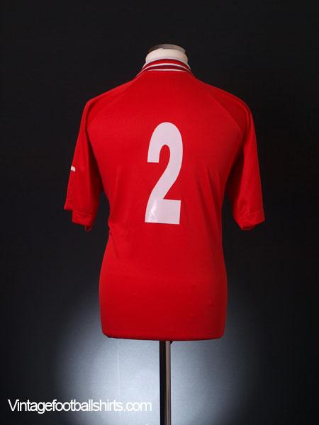 2000 Malta Match Issue Home Shirt #2 XL