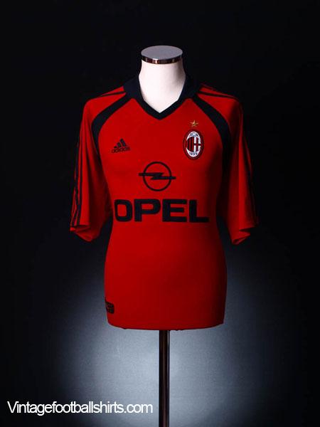 2001-02 AC Milan Third Shirt S