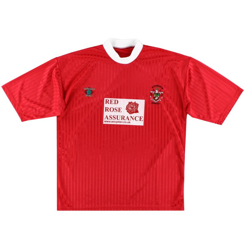 2001-02 Accrington Stanley Cavendish Sports Home Shirt XXL